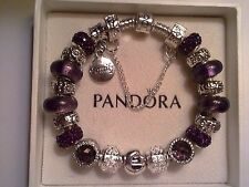 Authentic Pandora Sterling Silver Bracelet  (7.9 inches)