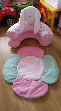 ELC Girl Butterfly Field Sit Me Up Cosy Toy From Birth . Immaculate Condition