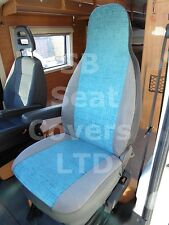 TO FIT A MERCEDES SPRINTER MOTORHOME, 2004, SEAT COVERS NEW WINDSOR BLUE