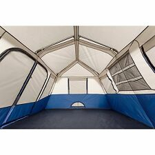Instant Cabin Tent 10 Person 2 Room 14 x 10 Family Camping 2 Minute Set Up Big