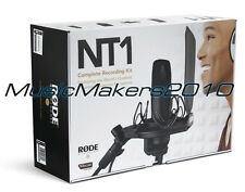 Rode NT1 Quiet Condenser Microphone Kit, NT-1 Mic and SMR Shock Mount - L@@K!*