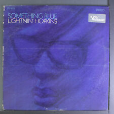 LIGHTNIN' HOPKINS: Something Blue LP (some spine/seam wear) rare Blues & R&B
