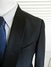 Ermenegildo Zegna Black Shawl Collar Tuxedo / Dinner / Smoking Jacket 42R $1695