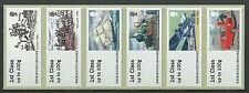GREAT BRITAIN 2016 ROYAL MAIL HERITAGE:TRANSPORT, POST AND GO UNMOUNTED MINT