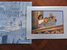 1997 Disney Store Hunchback Of Notre Dame Excl. Commemorative Lithograph Print