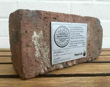 SUPERB -THE BEATLES CAVERN CLUB BRICK- LIMITED TO 5000 & 1983 ROYAL LIFE PLAQUE