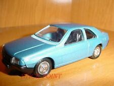 RENAULT FUEGO METALLIC BLUE 1:43 MINT!!!