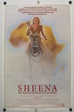 SHEENA - Tanya Roberts - Original NSS Movie Poster - 1984 Rolled SS C8/C9