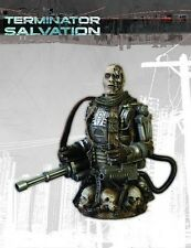 TERMINATOR SALVATION T-600 BUST DC Comics LIMITED EDITION  NIB