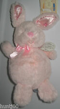 Kids Preferred plush bunny rabbit pink heart baby SPECIAL DELIVERY toy NWT NEW