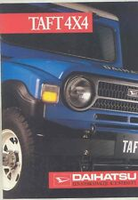 1980 ? Daihatsu Taft 4x4 Brochure Dutch Netherlands wv3614