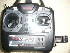 Tactic TTX600 6-Channel 2.4GHz SLT Radio Transmitter  with TR624 Receiver