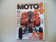 MOTO4 10/2007 KTM XC 450/525/SUZUKI KING QUAD 450/CINGOLI TATOU/CAN-AM RENEGADE