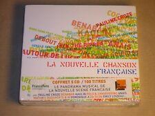 COFFRET 5 CD / LA NOUVELLE CHANSON FRANCAISE VOL 1 / RARE / NEUF SOUS CELLO