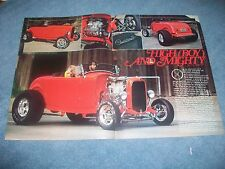 "1932 Ford Roadster High Boy Street Rod Article ""High (Boy) and Mighty"""