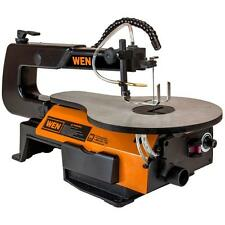 """Variable Speed Scroll Saw Table 1.2 Amp 16 in. 16"""" Scrolling Wood Tool Light New"""