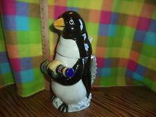 Anheuser Busch Budweiser CS324 1996 Bud Ice Penguin Character STEIN Rare
