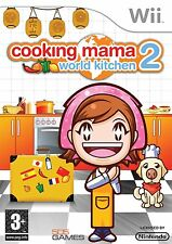 Wii Cooking Mama Game 2: World Kitchen World Kitchen