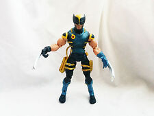 """Marvel Legends Wolverine Blue and Yellow outfit action figure 6"""" scale toy"""