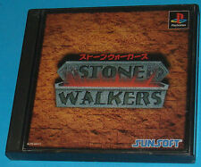 Stone Walkers - Sony Playstation - PS1 PSX - JAP Japan