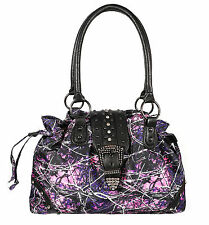 Muddy Girl Drawstring Bling Buckle Handbag Muddy Girl