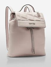 NWT Calvin Klein Kora Studio Slim Backpack Blush Teaberry