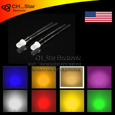 8X160pcs 3mm Round Diffused LED Dides White Color Eight kinds of Light MIx Kits