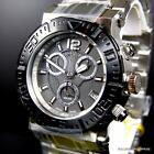 Invicta Reserve Ocean Reef Swiss Made Chronograph Stainless Steel Gray Watch New