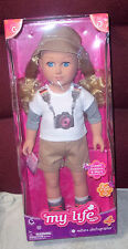 "New My Life As 18"" Nature Photographer Doll Blonde NEW IN BOX"
