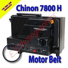 CHINON Sound 7800 H SUPER 8mm CINE PROIETTORE Belt (motore principale Cintura)