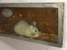 Antique Victorian Hamelin Germany Pied Piper Mouse Diorama Box