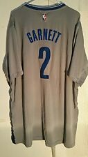 Adidas Swingman 2015-16 NBA Jersey Nets Garnett Grey Short Sleeve sz 3X