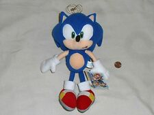 "Sonic X Sonic the Hedgehog UFO Catcher Plush Doll Stuffed Toy 9"" Sega Japan 2003"