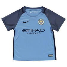 Nike manchester city fc home top 2016 2017 6-7 ans
