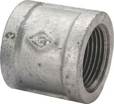 LOT (20) 1/2 INCH GALVANIZED PIPE THREADED COUPLING FITTINGS PLUMBING 6117667