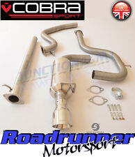 "Cobra Sport Mondeo ST 2.2 TDCi 2.5"" Exhaust System Stainless Front Pipe Back New"