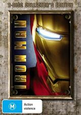 IRON MAN DVD R4 2 Disc Collector's Edition