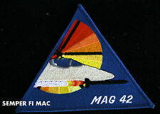 MARINE AIR GROUP 42 COLLECTOR PATCH MAG 42 NAS ATLANTA RESERVE 4th MAW ON TARGET