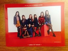 K-POP I.O.I PanCoat Model I.O.I Unit Watta Man Official Poster and Photo Cut