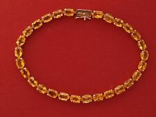 10ct Yellow Gold Citrine Bracelet
