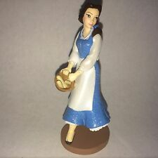Disney Store Authentic BELLE Beauty BEAST FIGURINE Cake TOPPER PRINCESS NEW
