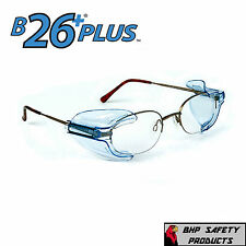 B26+ SIDE SHIELDS FOR RX GLASSES SAFETY EYEWEAR EYE PROTECTION Z87.1 COMPLIANT