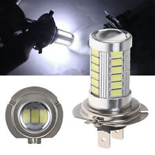 2x H7 PX26D 6000K White 5630 33 SMD LED 12V Auto Car Fog Light Headlight Bulbs