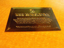 STAR TREK 30 YEARS PHASE 1 GOLD REGISTRY PLAQUE R-5