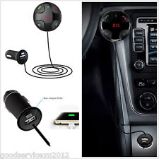 12V FM29B Car Wireless Bluetooth FM Transmitter USB Charger Handfree Calling Kit