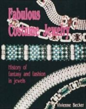 Fabulous Costume Jewelry: History of Fantasy and Fashion in Jewels-ExLibrary