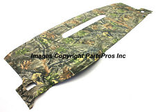 NEW SuperFlage Camo Camouflage Tailored Dash Mat Cover / LISTED GMC CHEVY TRUCK