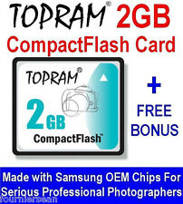 2 GIG GB COMPACT FLASH CF MEMORY CARD AKAI MPC 1000 500 2500 MPC1000 NEW + CD O9