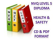 Health and Safety Diploma NVQ QCF Level 5 Complete Portfolio of Answers