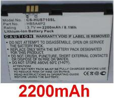 Battery 2200mAh type HB4G1H HB5A4P2 For Huawei IDEOS S7